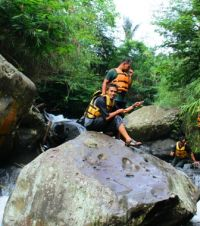 Susur sungai ranto canyon