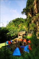 Camp ground Curug Cibuntu