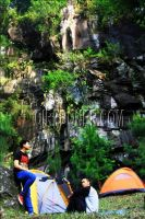 Camp ground curug Gongseng