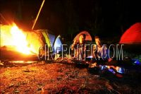 Camping ground curug Gongseng